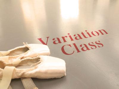 9月のヴァリエーションクラス
